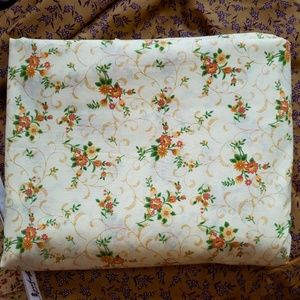 Vintage Floral Lightweight Cotton Fabric 2y X 44""